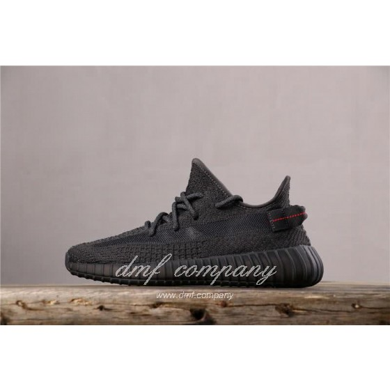 adidas Yeezy Boost 350 V2 Men Women Black Static Shoes