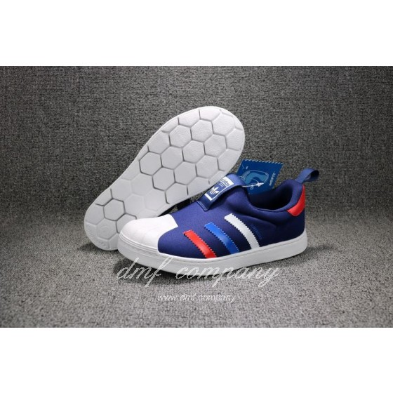 ADIDAS SUPERSTAR 360 Kids Shoes Blue