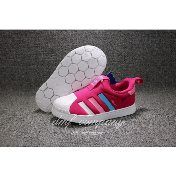 ADIDAS SUPERSTAR 360 Kids Shoes Red