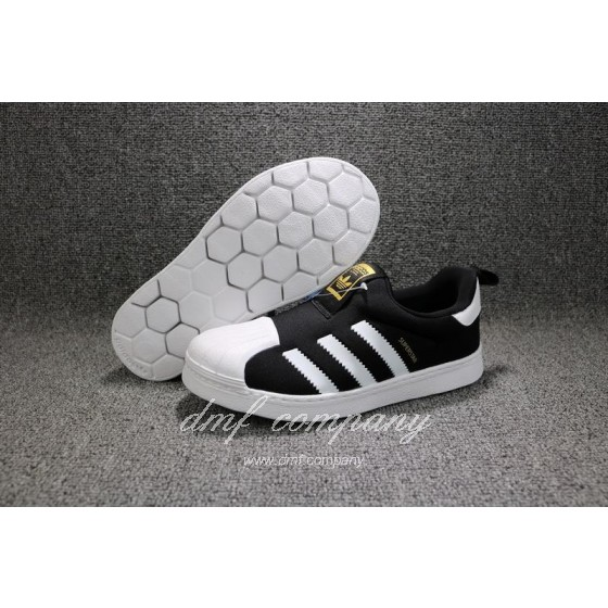 ADIDAS SUPERSTAR 360 Kids Shoes Black
