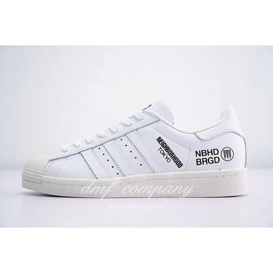 NEIGHBORHOOD x Adidas Originals Superstar 80s White Men/Women