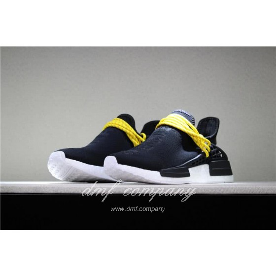 Adidas PW Human Race NMD Black Yellow And White Men And Women