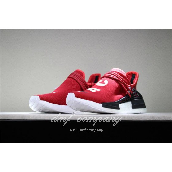 Adidas PW Human Race NMD Red Black And White Men And Women
