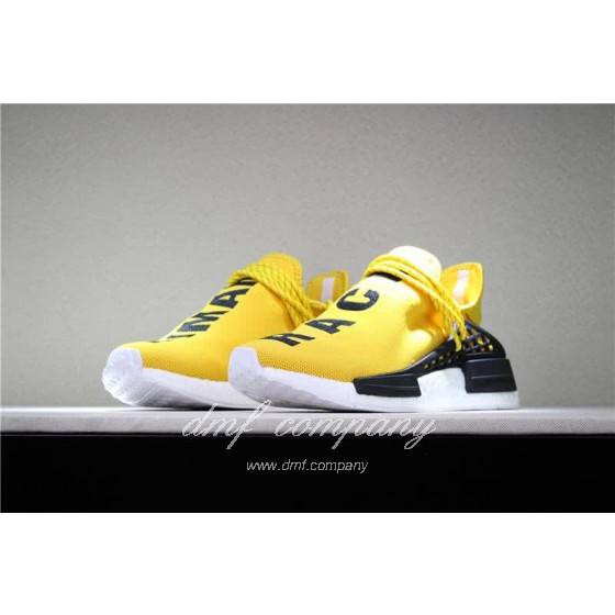 Adidas PW Human Race NMD Yellow Black And White Men And Women