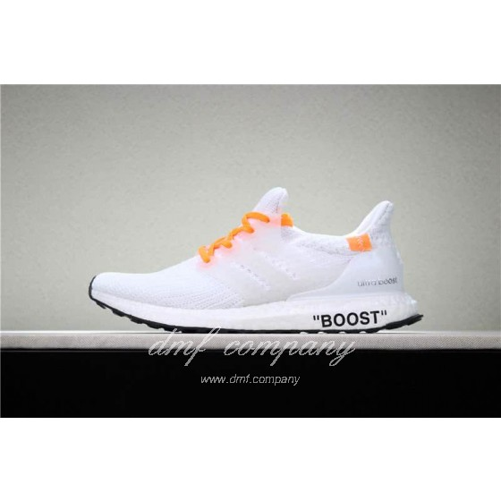 Adidas Ultra Boost 4.0  Men/Women White/Orange
