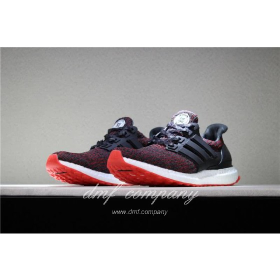 UNDFTD X Adidas Ultra Boost 4.0 Men Women Black Red Shoes