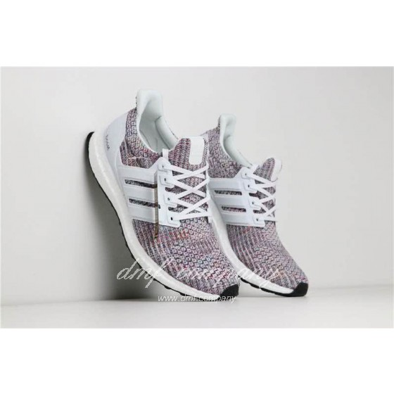 Adidas Ultra Boost 4.0 Men Women White Shoes