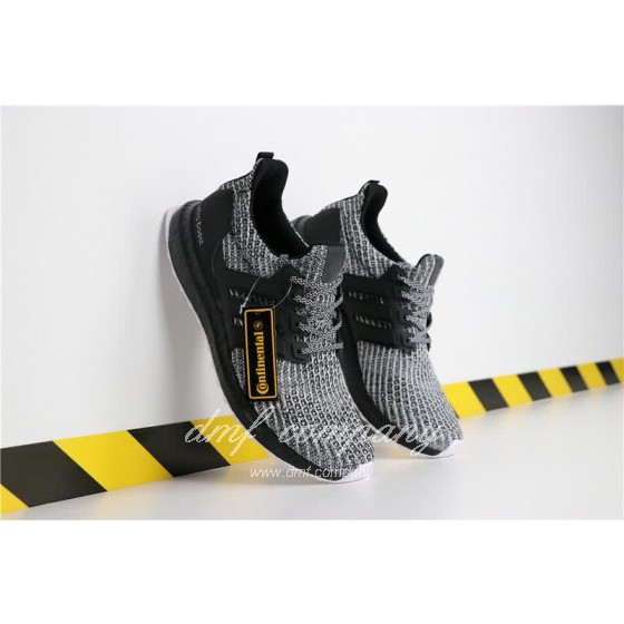 Adidas Ultra Boost 4.0 Men Women Grey Black Shoes