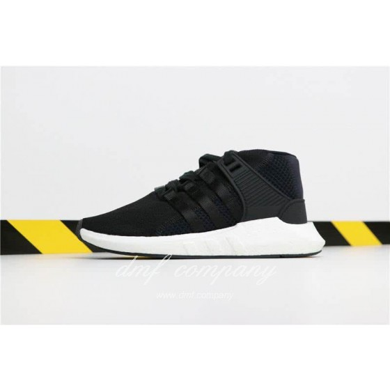 Adidas EQT 93∕17 Boost Black Upper And White Side Men