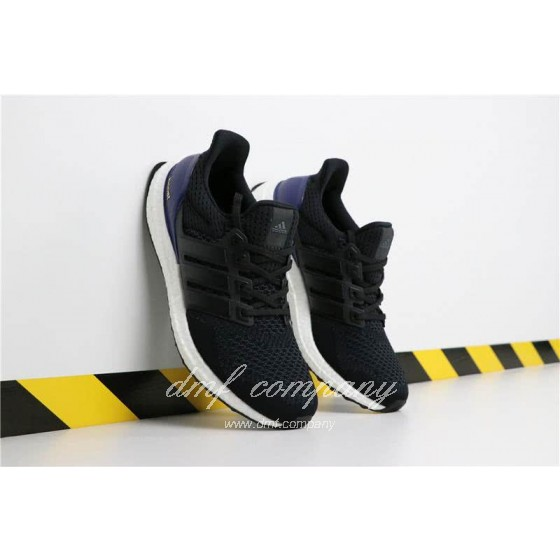 Adidas Ultra Boost 1.0 Men Black Blue Shoes