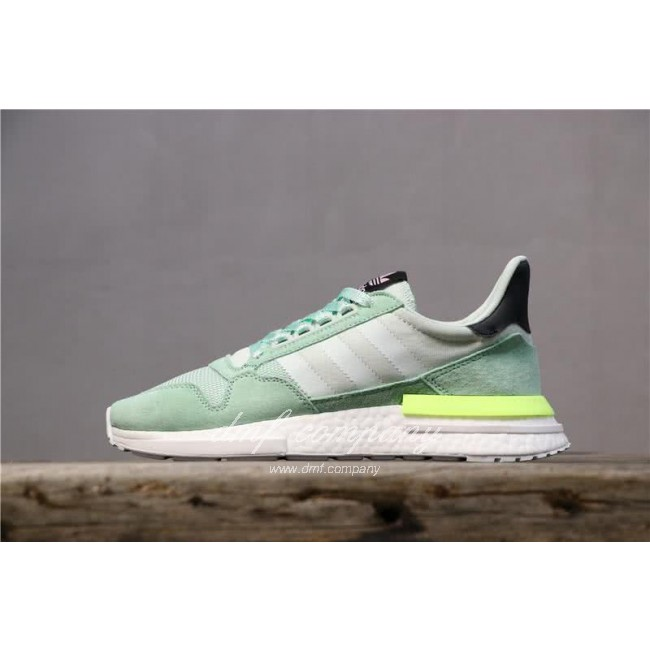 Adidas ZX500 RM Boost Green And Yellow