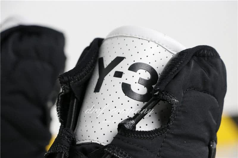 adidas Y-3 Men Women White Black Shoes 8