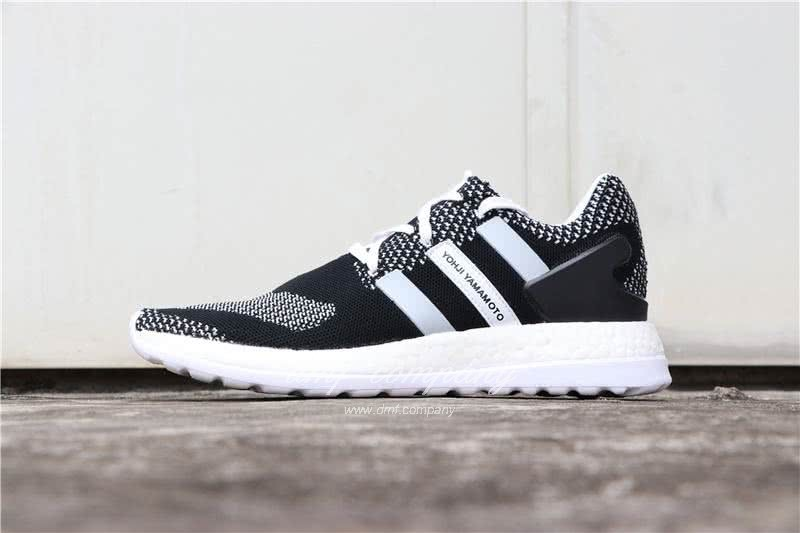 Adidas Y-3 Pure Boost ZG Kint Y3 AQ5731 Men Black/White 1
