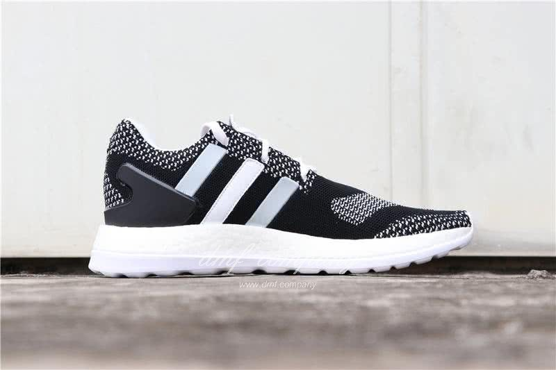 Adidas Y-3 Pure Boost ZG Kint Y3 AQ5731 Men Black/White 3