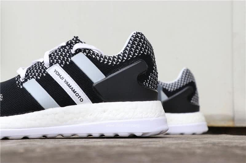 Adidas Y-3 Pure Boost ZG Kint Y3 AQ5731 Men Black/White 6