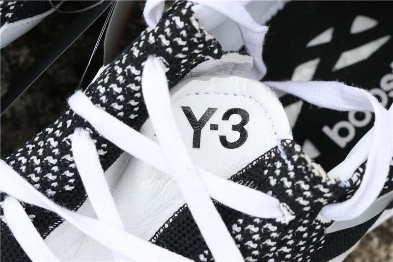 Adidas Y-3 Pure Boost ZG Kint Y3 AQ5731 Men Black/White 9