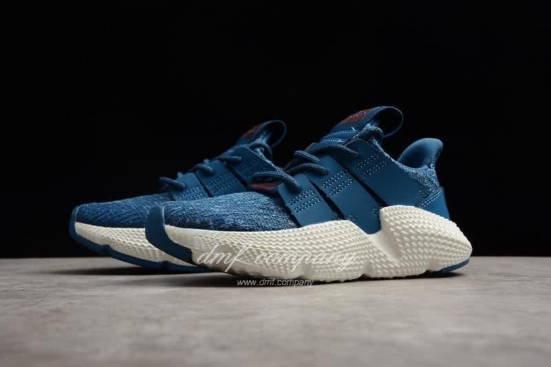 Adidas Prophere Kids Shoes Blue/White 2