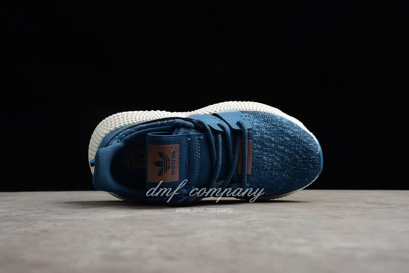 Adidas Prophere Kids Shoes Blue/White 4