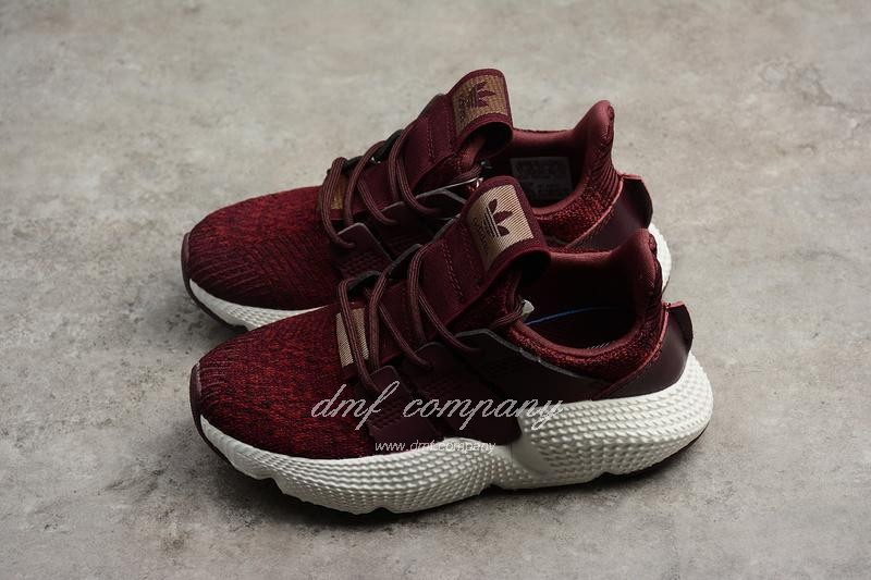Adidas Prophere Kids Shoes Black/Red 7
