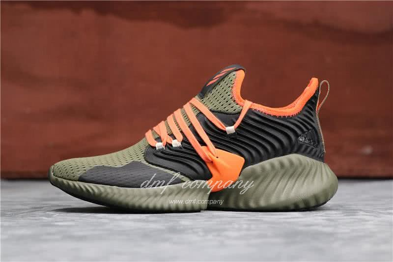Adidas Alpha Bounce Atrovirens Black And Red Men And Women 1