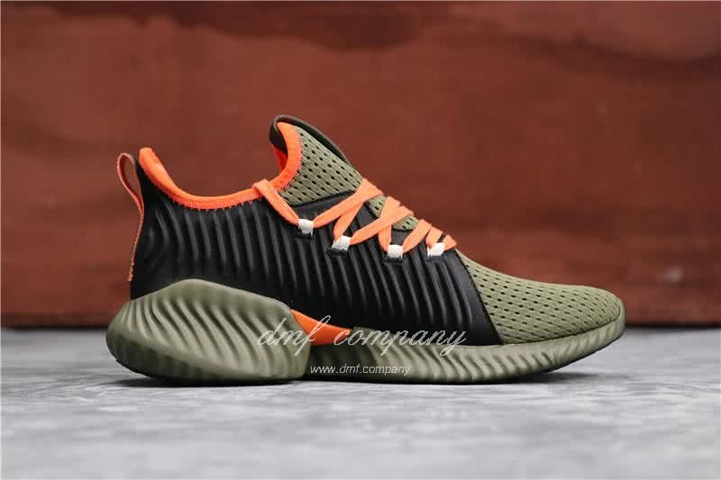 Adidas Alpha Bounce Atrovirens Black And Red Men And Women 2