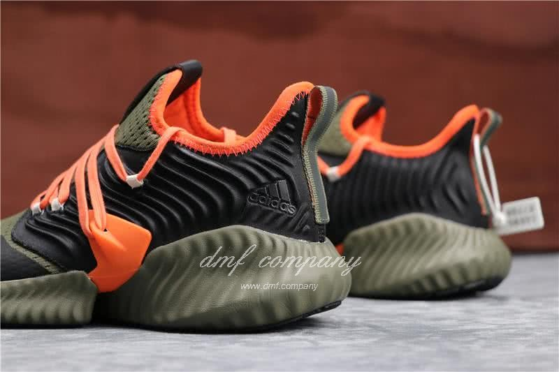 Adidas Alpha Bounce Atrovirens Black And Red Men And Women 5