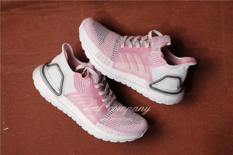 Adidas Ultra Boost 19 Women Pink Shoes 3