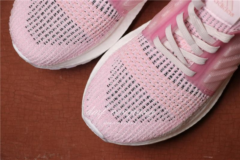 Adidas Ultra Boost 19 Women Pink Shoes 8
