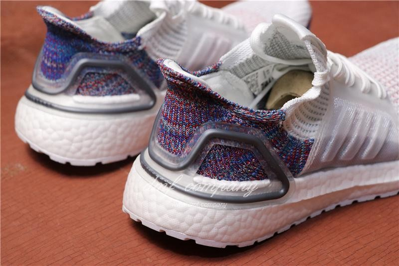 Adidas Ultra Boost 19 Men White Purple Shoes 4