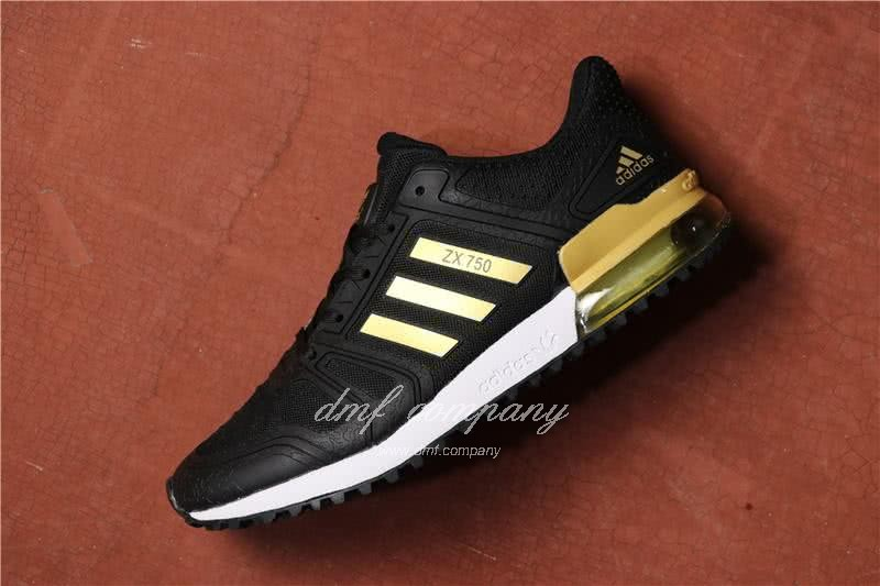 Adidas  ZX 750 Black/Golden Men 2