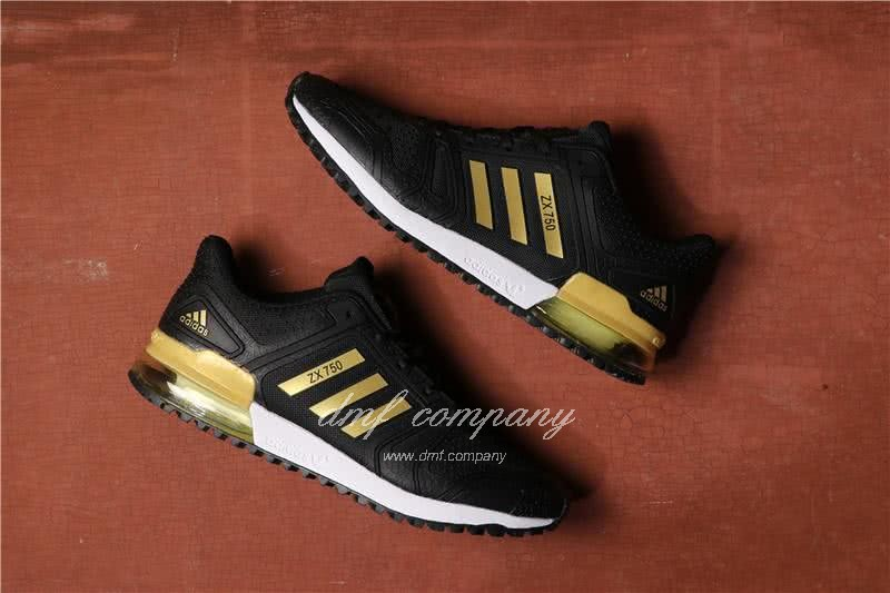 Adidas  ZX 750 Black/Golden Men 1