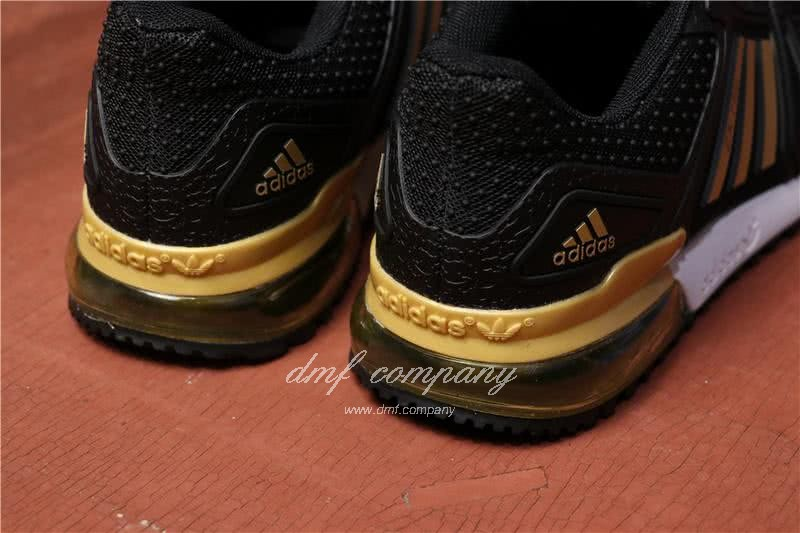 Adidas  ZX 750 Black/Golden Men 4