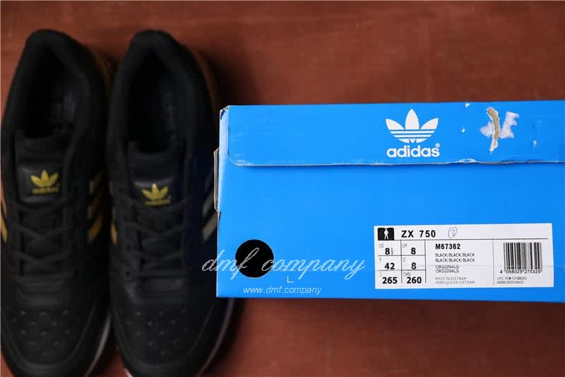 Adidas  ZX 750 Black/Golden Men 7