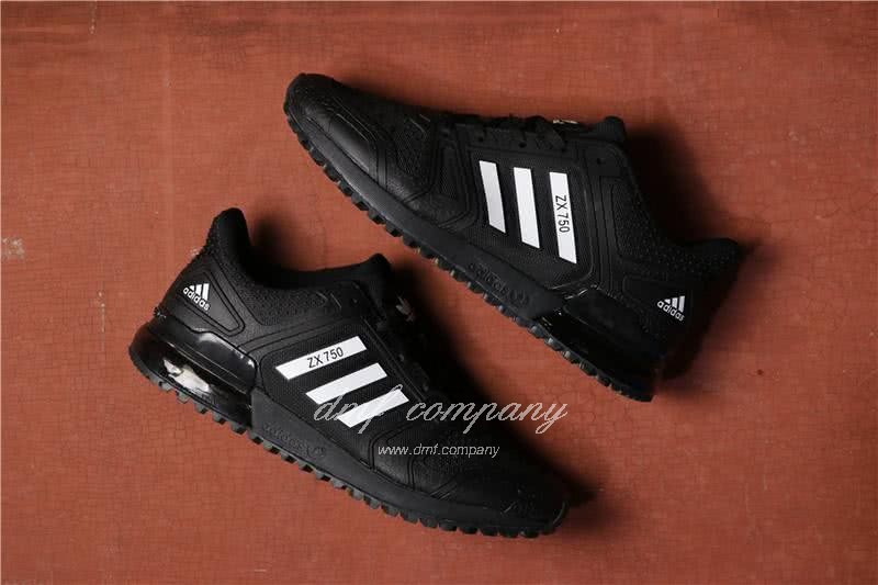 Adidas  ZX 750 Black/White Men/Women 1