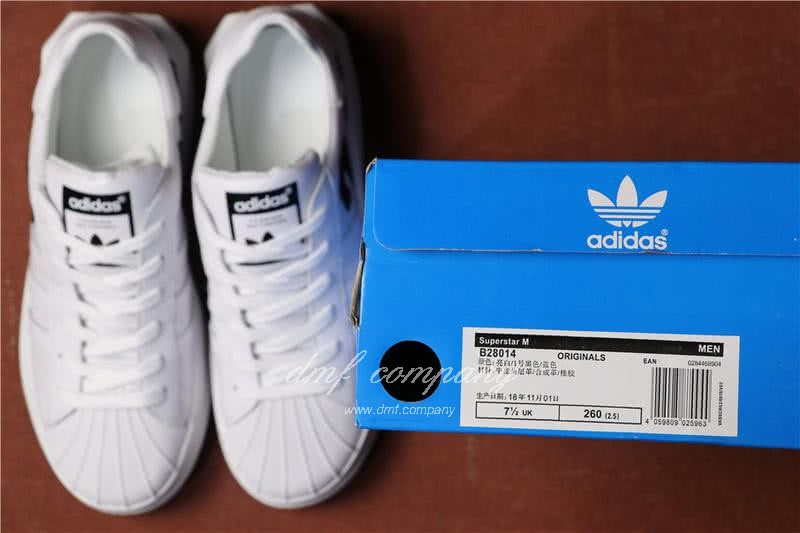 Adidas  Superstar W Men/Women WHITE 8