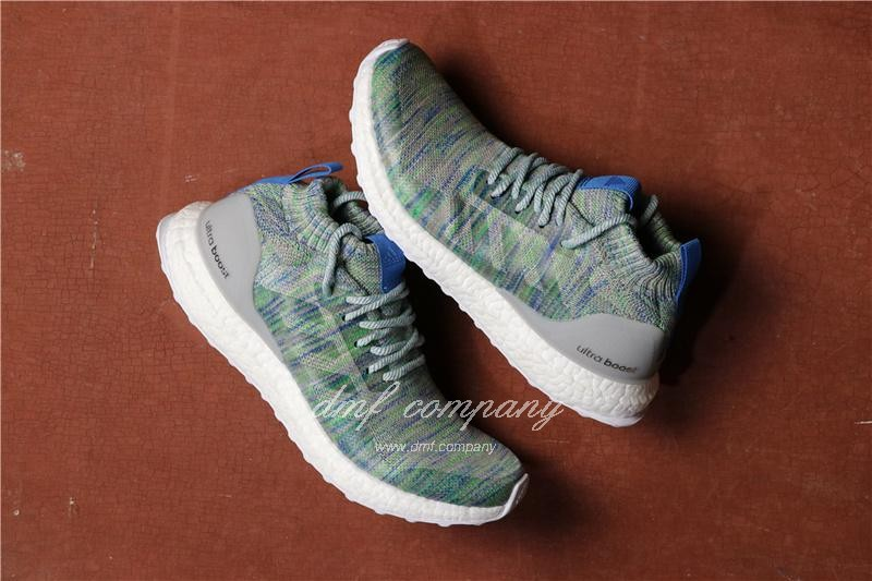 Adidas Ultra Boost Atr Mid UB3.0 Men Women Blue Green Shoes 1