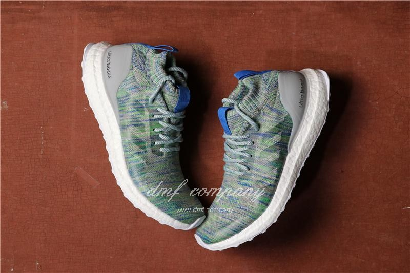 Adidas Ultra Boost Atr Mid UB3.0 Men Women Blue Green Shoes 3