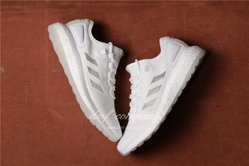 Adidas  Pure Boost UB Men/Women Pure White 4