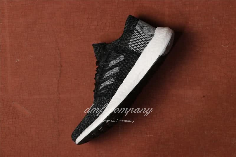 Adidas Pure Boost Men Women Black White Shoes 2