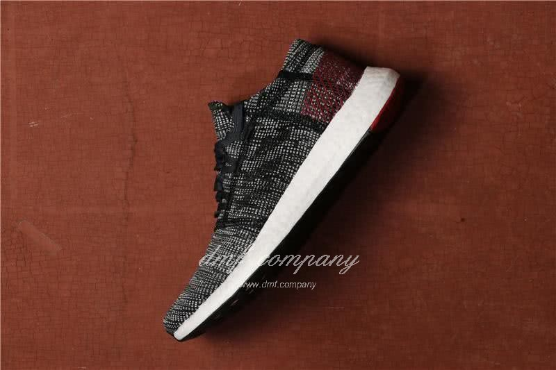 Adidas  Pure Boost Men Black/Red 2