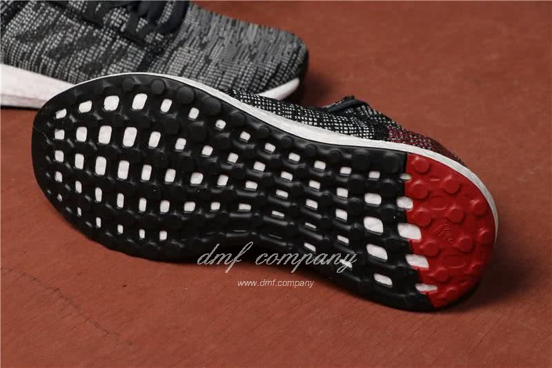 Adidas  Pure Boost Men Black/Red 6