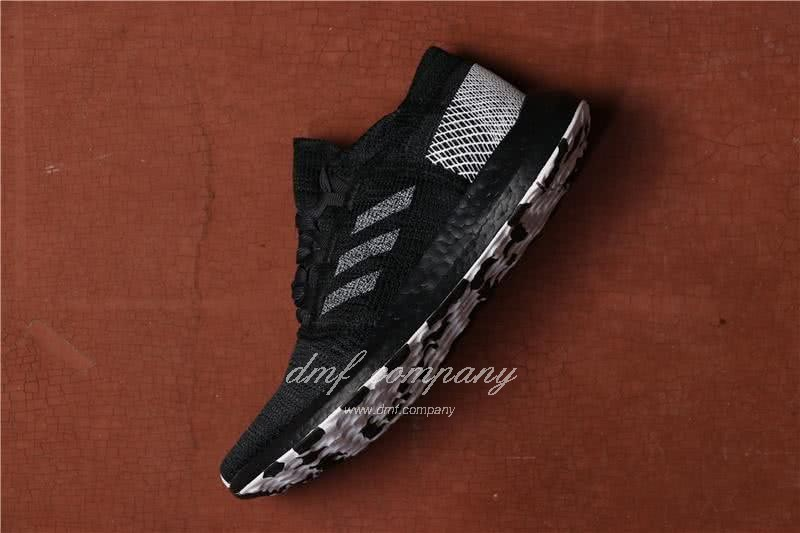 Adidas  Pure Boost Men Black Shoes 2
