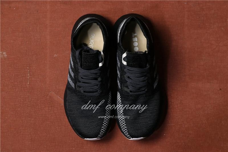 Adidas  Pure Boost Men Black Shoes 3