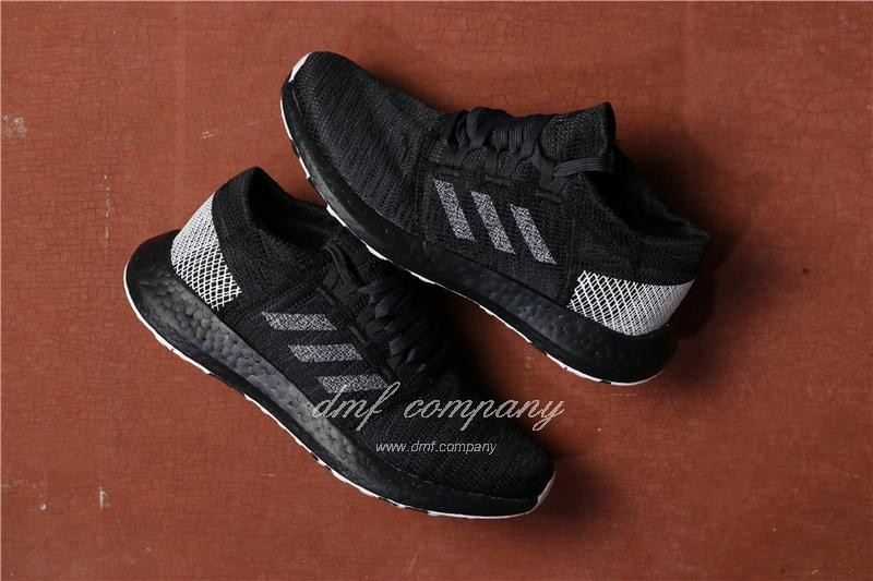Adidas  Pure Boost Men Black Shoes 1