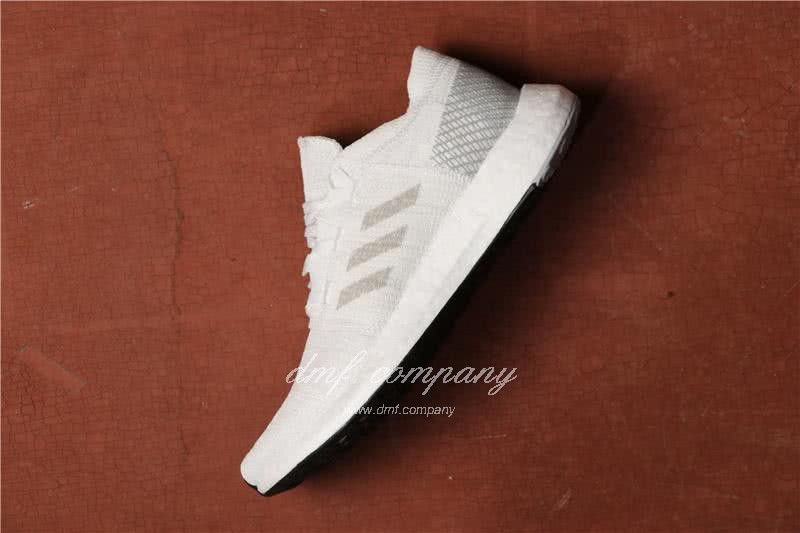 Adidas Pure Boost Men Women White Shoes 2