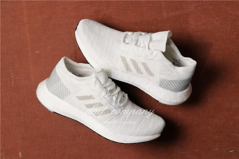 Adidas Pure Boost Men Women White Shoes 1
