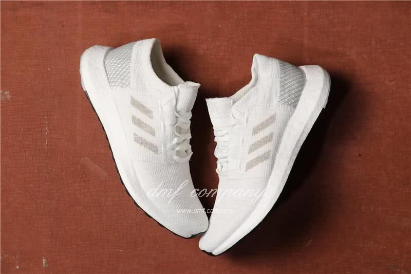 Adidas Pure Boost Men Women White Shoes 4