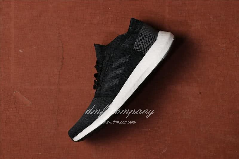 Adidas  Pure Boost Men And  Women Black 2