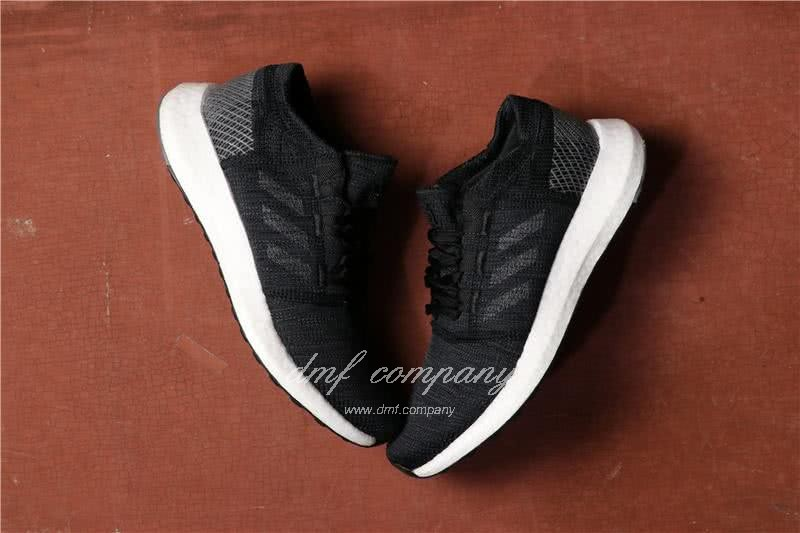 Adidas  Pure Boost Men And  Women Black 4