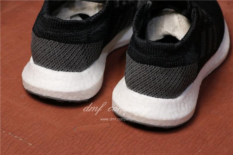 Adidas  Pure Boost Men And  Women Black 5